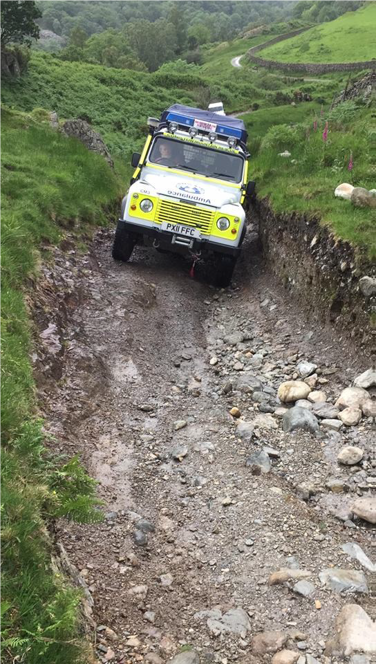 4x4 training Rescue Land Rover