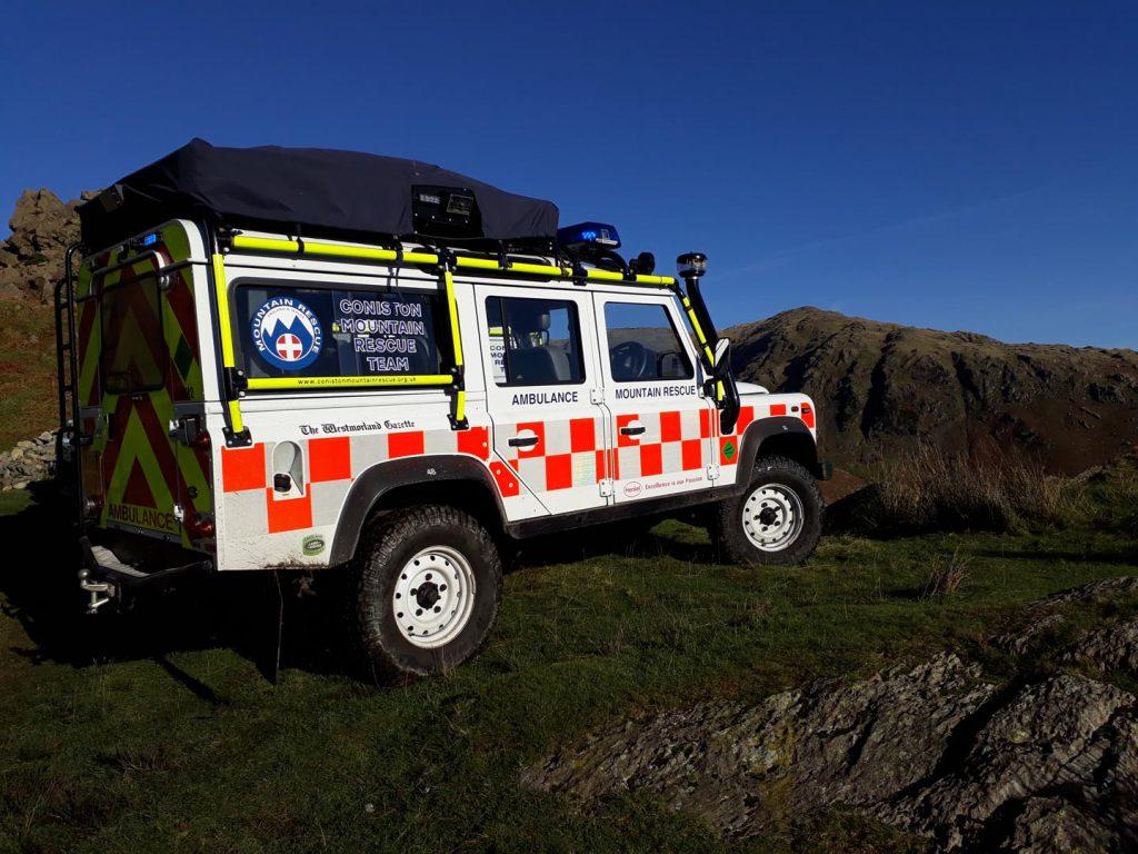 Rescue Land Rover