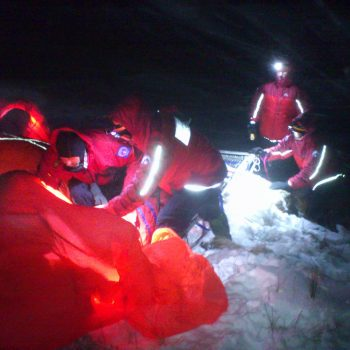 Levers water snow rescue